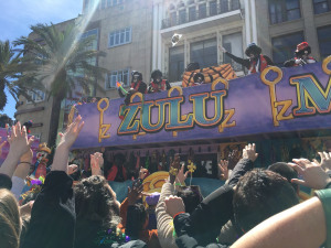 Enjoy the Ride: Mardi Gras Float-Riders Explain Their First Time