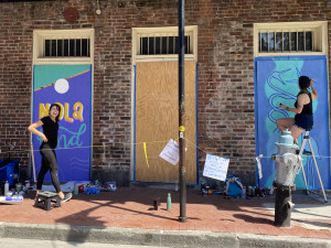 Back to the Drawing Board: Art on Plywood With the Plywood Project NOLA