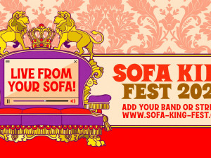 Organized by locals, 'Sofa King Fest' fights pandemic fallout with virtual music