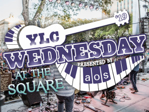 2019 YLC Wednesday at the Square Music Lineup Announced
