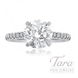 J.B. Star Diamond Engagement Ring, 4.00CT Forevermark Diamond, 6.3G, .38TDW (Center Stone Sold Separately)
