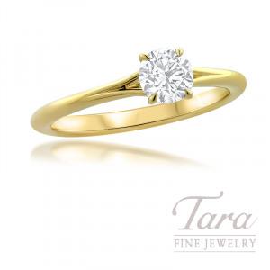 Forevermark 18K Yellow Gold Diamond Engagement Ring, 0.51CT.