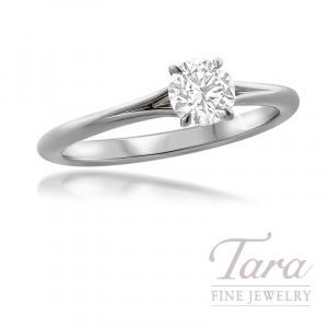 Forevermark Platinum Diamond Engagement Ring, 0.52CT. Forevermark Diamond