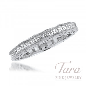Tacori Platinum Diamond Wedding Band, 1.21TDW
