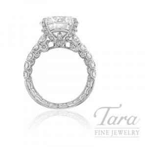 Jack Kelege Platinum Forevermark Diamond Engagement Ring, 4.28CT Forevermark Diamond, 1.82TDW (Center Stone Sold Separately)