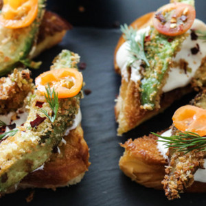 Fried Avocado Toast
