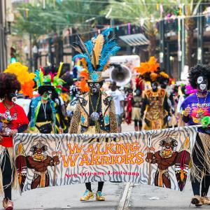 Zulu Celebrates Lundi Gras Festival