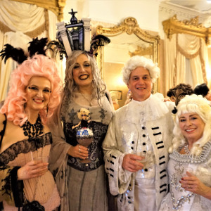 The Big Wig Ball Brings Out The Wigs
