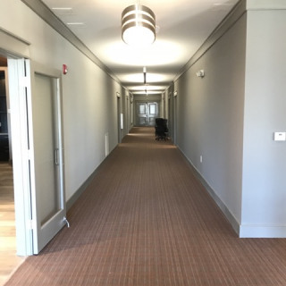 Our bright, wide corridors await you.