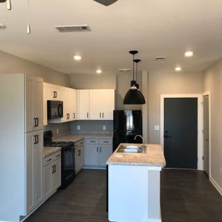 Open floor plans in all apartment homes