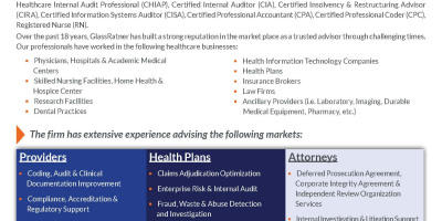 Healthcare Advisory Services