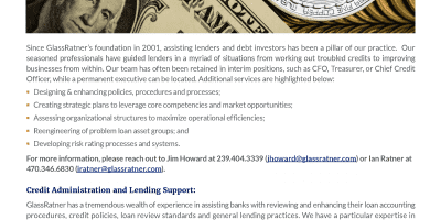 Banking  Lending Services
