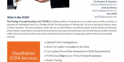 Forensic Accounting  Foreign Corrupt Practices Act