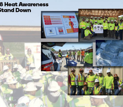 Supporting image for Heat Awareness Safety Standown