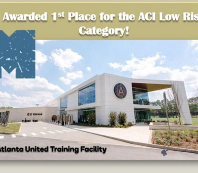 Supporting image for Atlanta United Training Facility Awarded 1st Place for an ACI Award