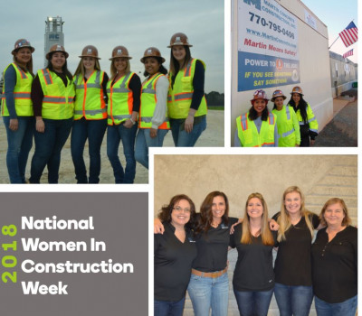 Supporting image for Celebrating National Women in Construction Week!