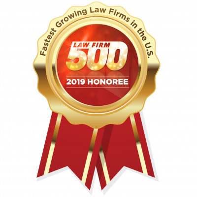 Law Firm 500 - One of the Fastest Growing Firms in the U.S. image