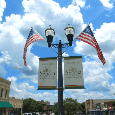 Image of the Senoia, GA