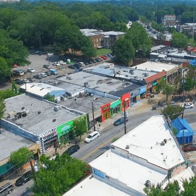 Image of the Little Five Points, GA