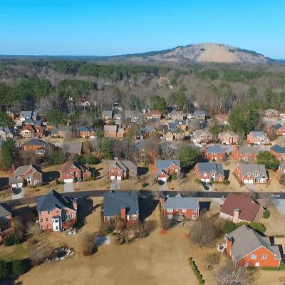 Image of the Stone Mountain, GA
