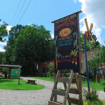 Image of the East Atlanta Village, GA