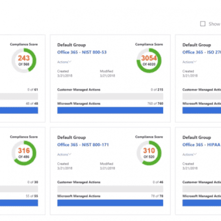 Exploring Microsoft Compliance Manager