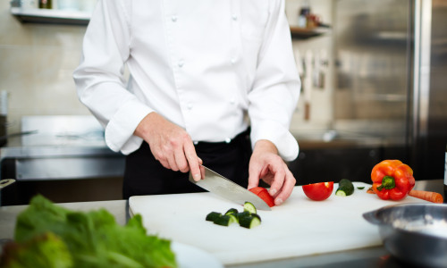 Image for Slicing-and-dicing data in the kitchen: restaurant food safety...