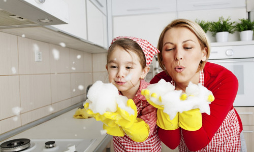 5 Fun Ways to Get Your Kids Involved in Cleaning