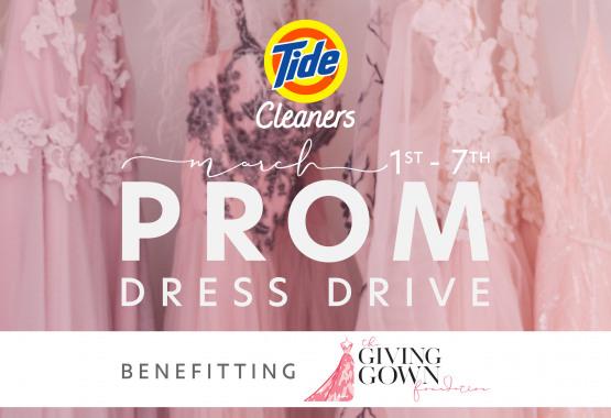 Tide Cleaners Prom Dress Drive