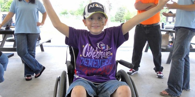Nolan and Wheelchair for Kids