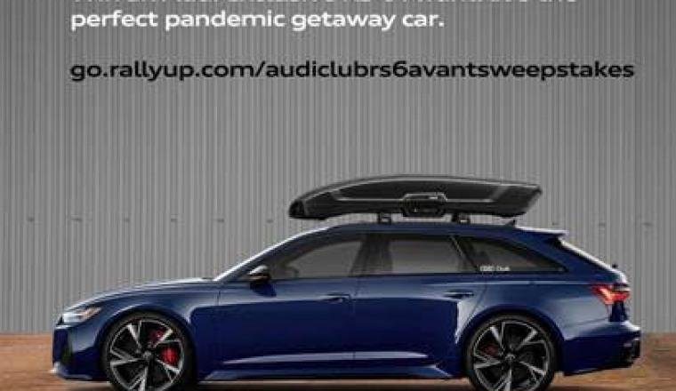 Win a 2021 RS6 Avant!