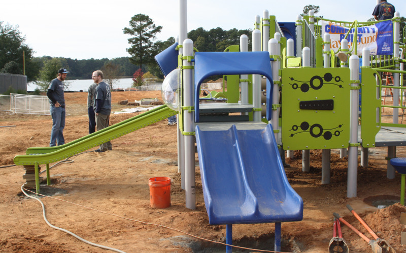 Newton County Miracle League Playground Build