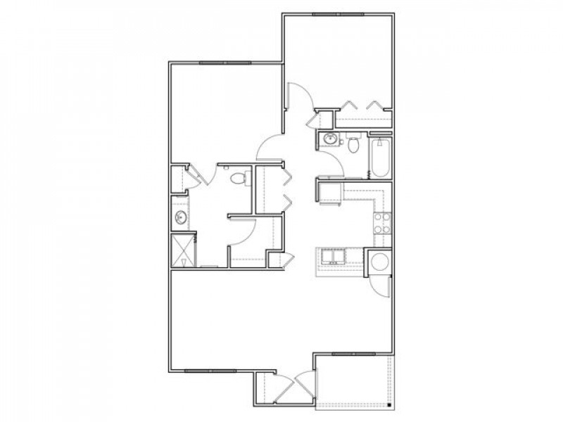 2 X 2 Cottage