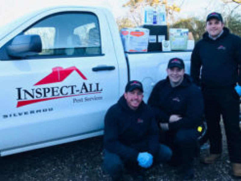Inspect-All  Donates to Mary's Relief:P.E.S.T. Relief International treats bed bug infestation, helps family avoid eviction