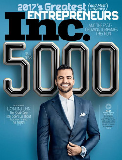 Inc. Magazine's 2017 5000 Fastest Growing Companies