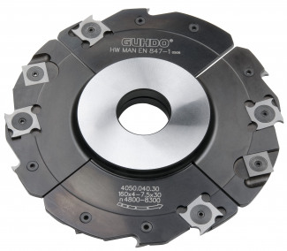 Series 4050 Insert Grooving Cutter