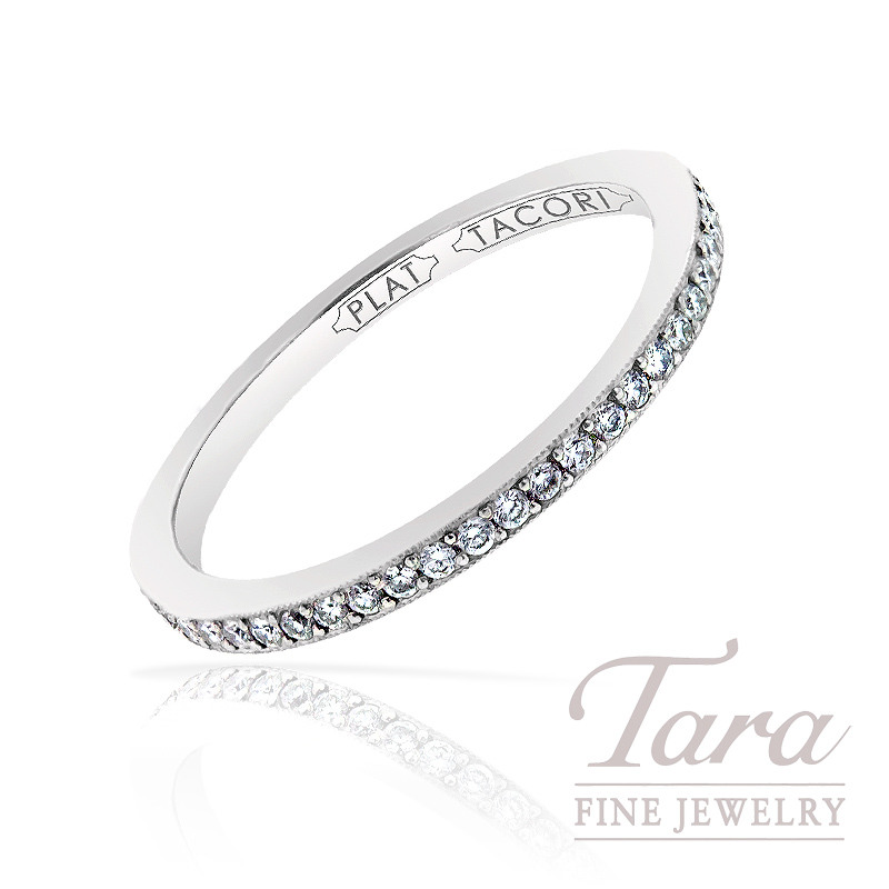 Tacori Diamond Eternity Band in Platinum, 1.21 TDW