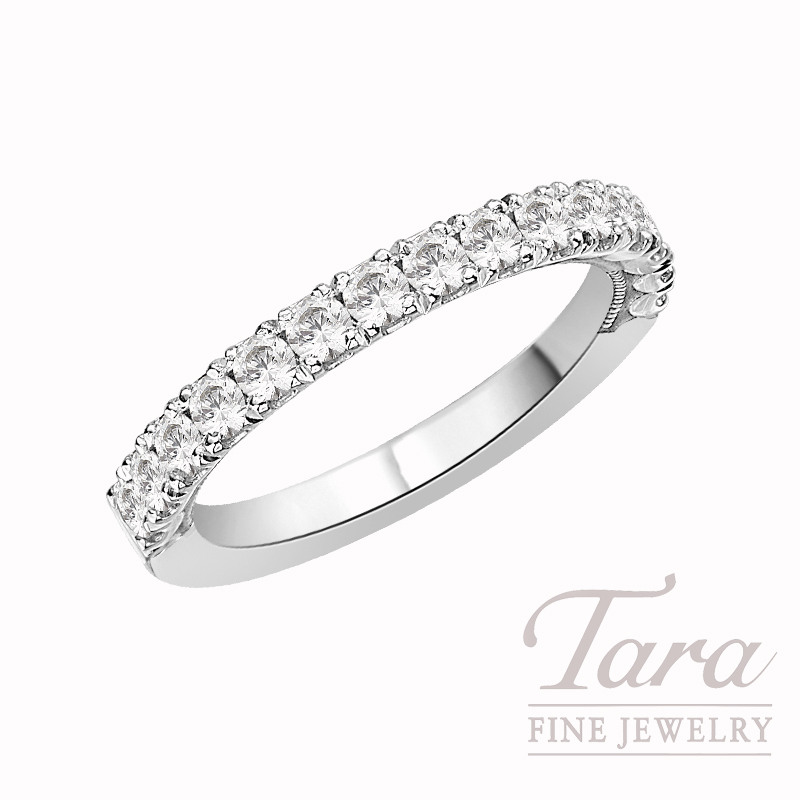 Tacori Diamond Wedding Band in Platinum, .69 CT TW