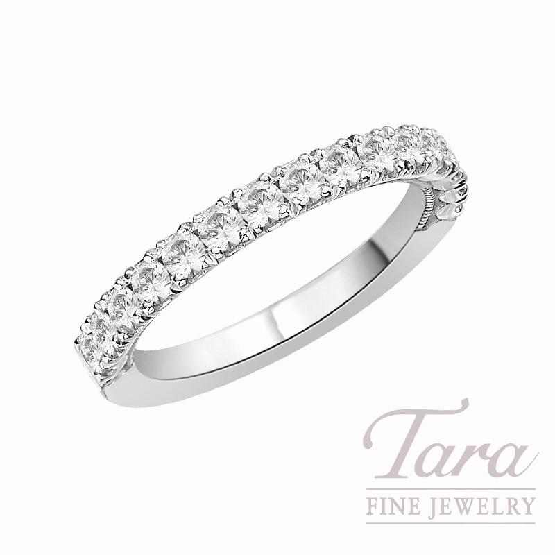 Tacori Diamond Wedding Band in Platinum, .69 CT TW