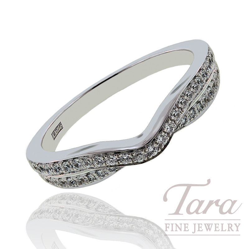 A. Jaffe Diamond Wedding Band,  .23 CT TW.