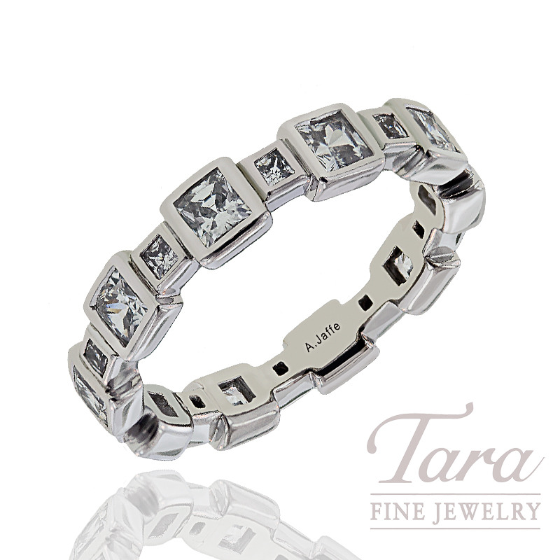 A. Jaffe Diamond Wedding Band, 1.57 CT TW.