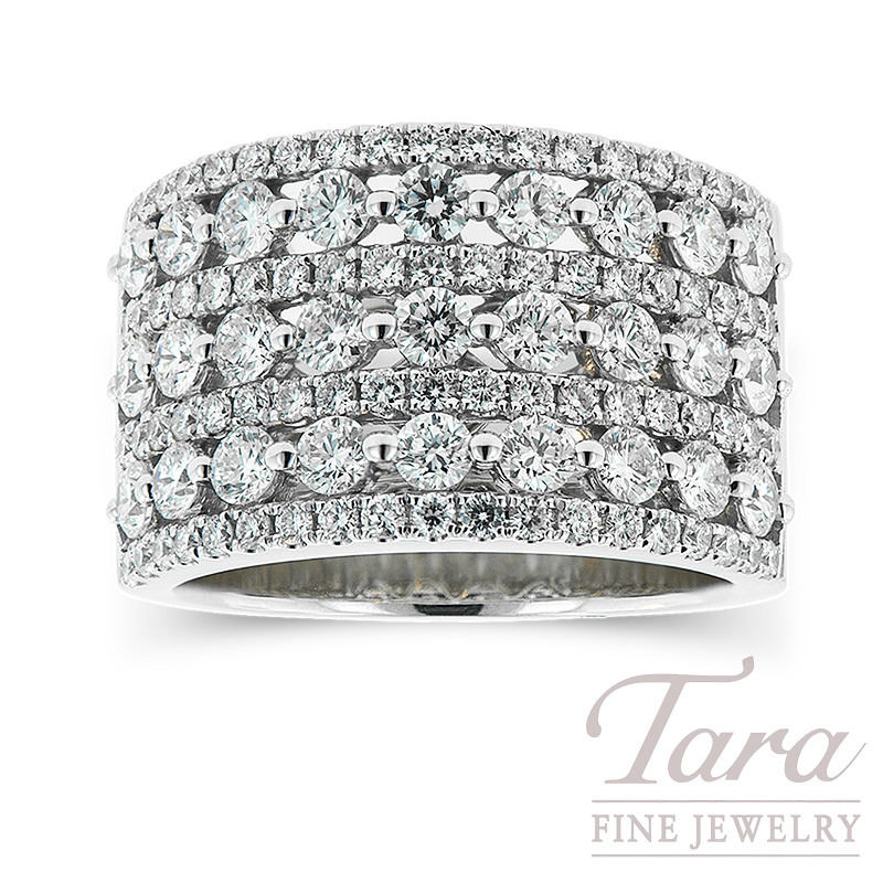 Diamond Band in 18k White Gold 2.22 TDW