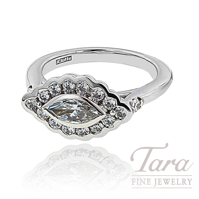 A. Jaffe Diamond Ring, .98 CT TW.