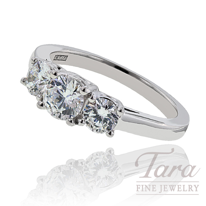 A. Jaffe Diamond Wedding Ring, 1.00 CT TW.