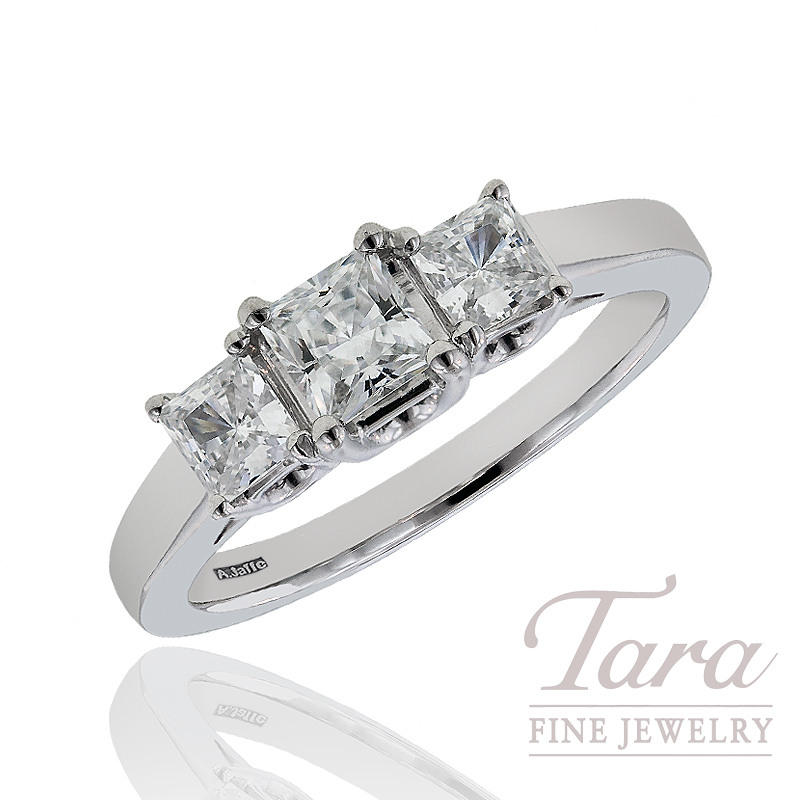 A. Jaffe Diamond Wedding Ring, 1.00 CT TW.