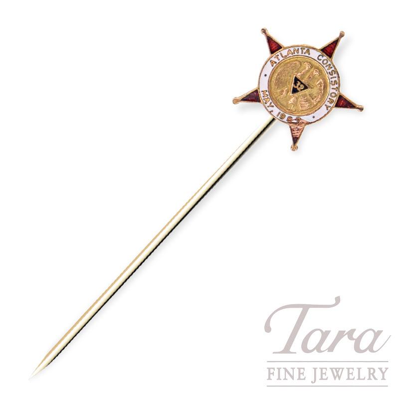 Stick Pin from Atlanta Consistory May 1927