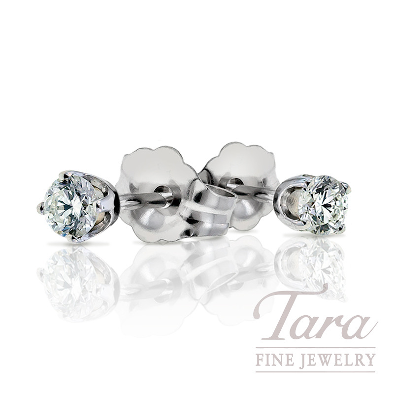 Diamond Stud Earrings- Click for the Many Sizes Available!