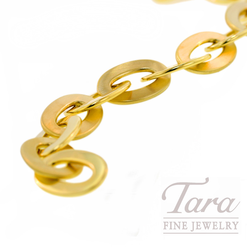 Roberto Coin Link Bracelet in 18k Yellow Gold