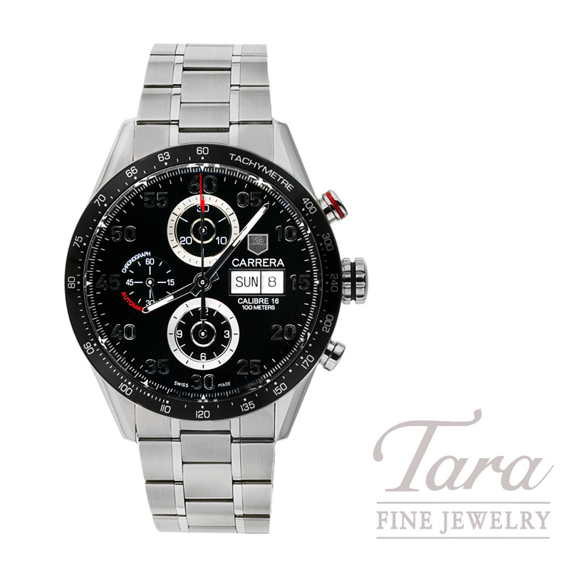 Tag Heuer Watch 43mm Carrera Chronograph