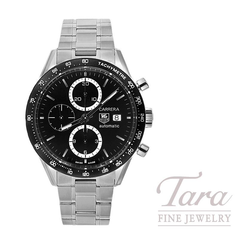 Tag Heuer Watch 41mm Carrera Chronograph
